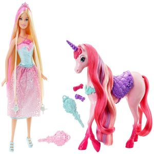 Barbies con unicornios